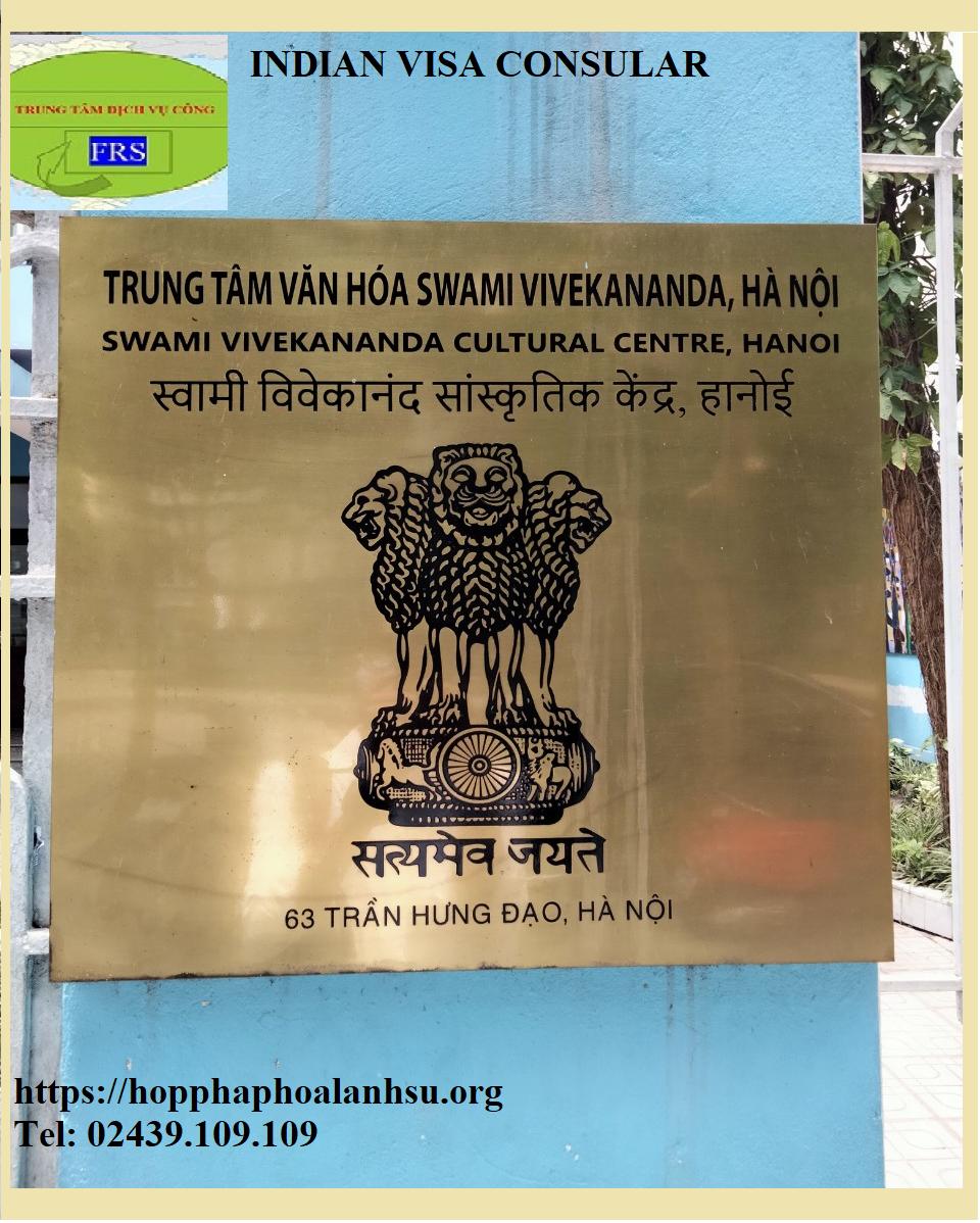 Hợp pháp hóa lãnh sự Ấn Độ